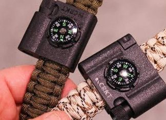 CRKT Add-On Paracord Braclet Survival Tools