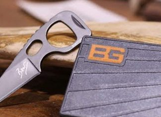 Gerber Bear Grylls Survival Card Tool Knife