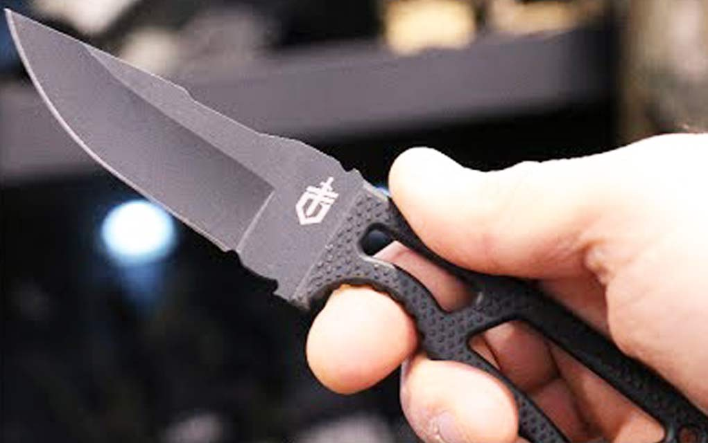 Gerber Ghost Strike Ultra Light Fixed Blade Survival Knife
