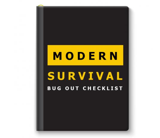 Modern Survival Bug Out Checklist