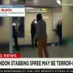 """London Tube Station Knife Attack A """"Terrorist Incident"""""""
