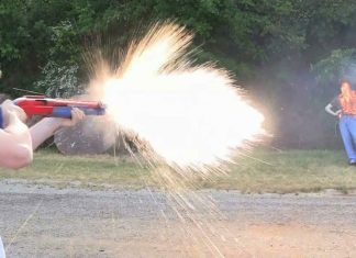 "The ""Dragon's Breath"" 12 Gauge Shotgun Shell"