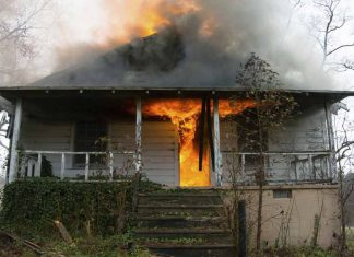 Surviving a house fire