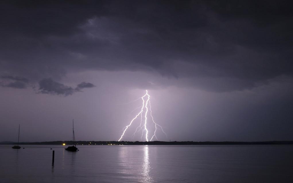 Surviving a lightning storm