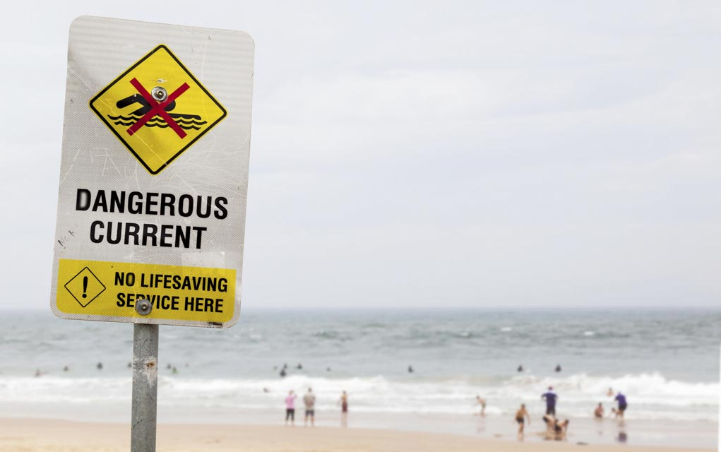 How to Survive Getting Caught in a Rip Current