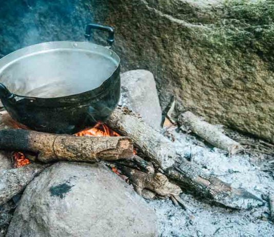 Alternative Methods of Boiling Water in a Survival Situation