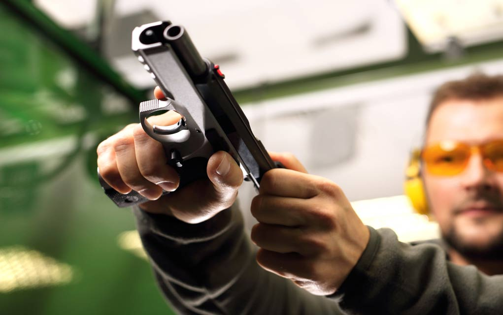 How to Safely Hand Over a Firearm