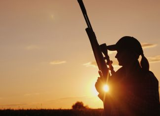 104-Yr-Old Woman Gets First Hunting License