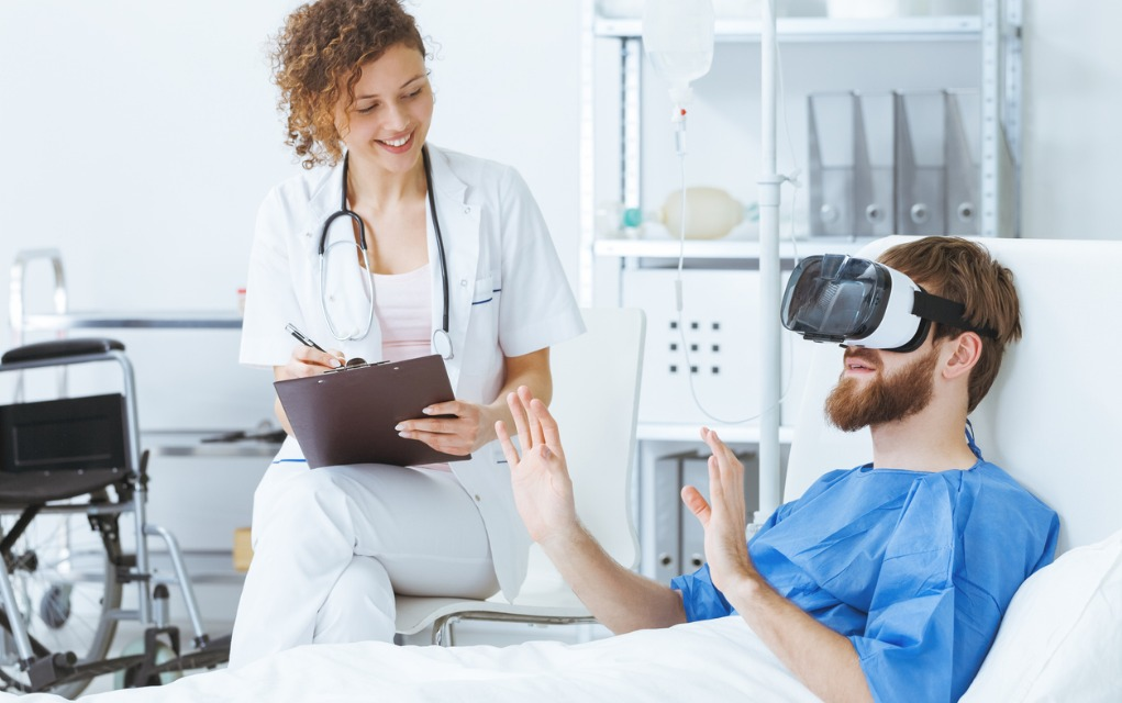 VR Tested in Lieu of Painkillers