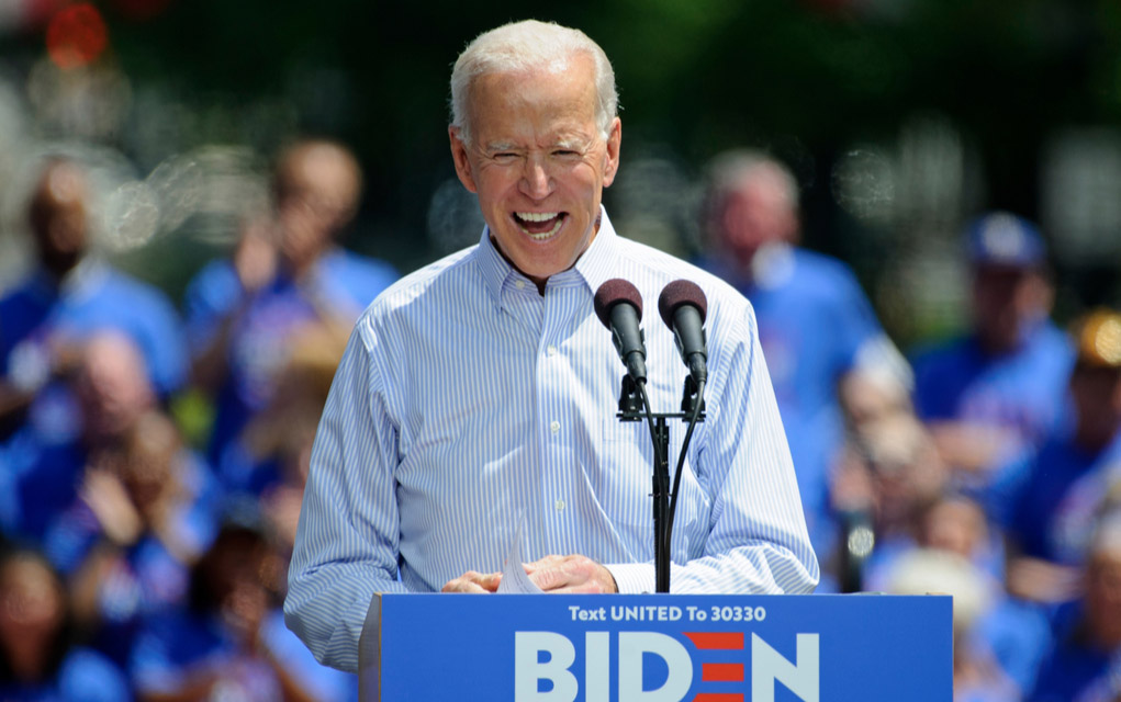 Biden Slithers Out of Hole He Dug