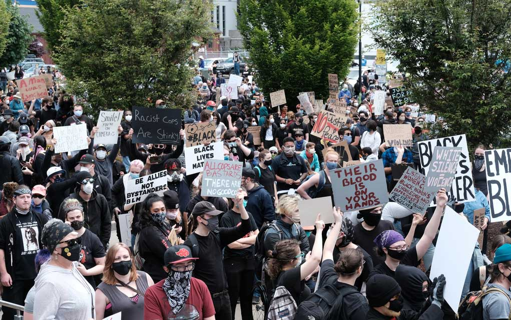 Protesters Unite in Stunning Displays