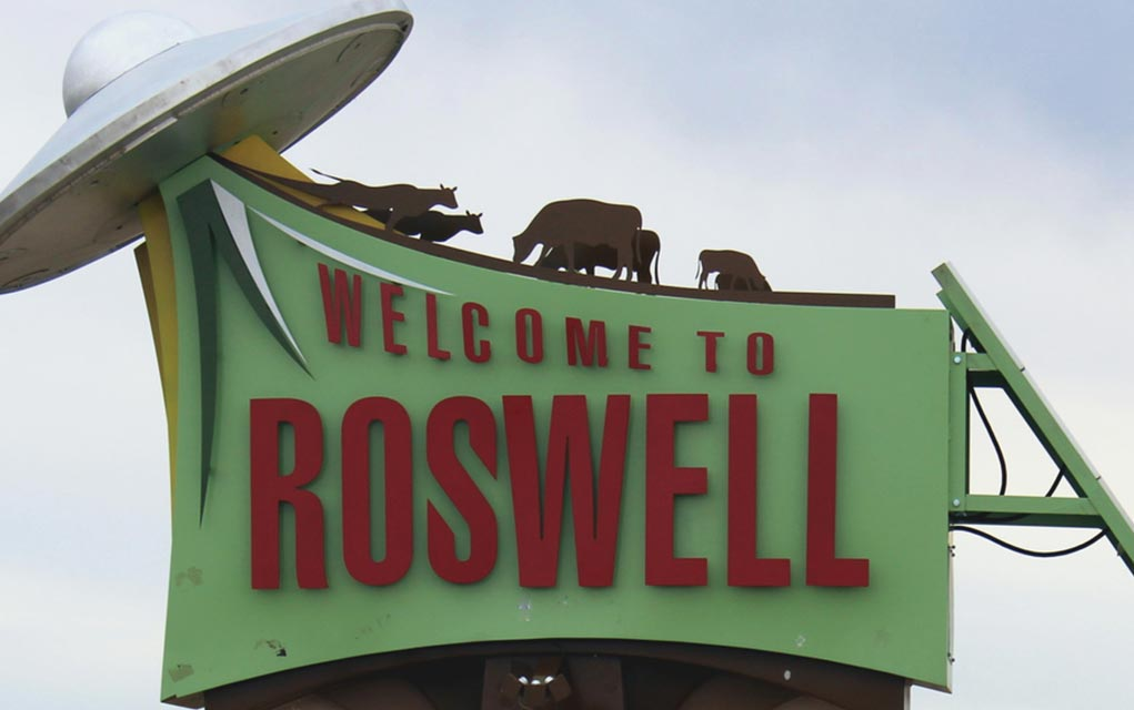Trump Weighs in on Roswell Conspiracy