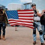 Patriots Crash Antifa's Party